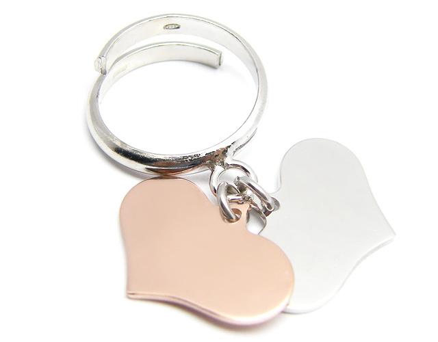 enfant prix incroyable nouveau sélection salvare b4b32 e5271 anello con ciondolo cuore - campeggi ...