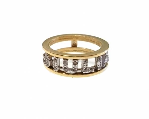 Anello fascetta personalizzabile con nome in acciaio bianco o giallo e Swarovski
