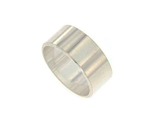 Anello fascia inglese in argento 925 lucida personalizzabile con l'incisione interna o esterna