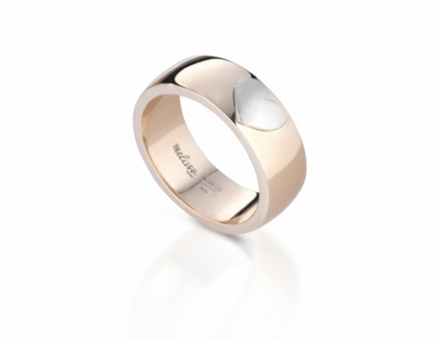 Melissa Jewels - Ring in 925k Silver and 18k Gold