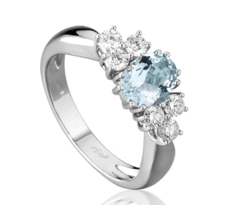Roger Gems - 18k White Gold Ring