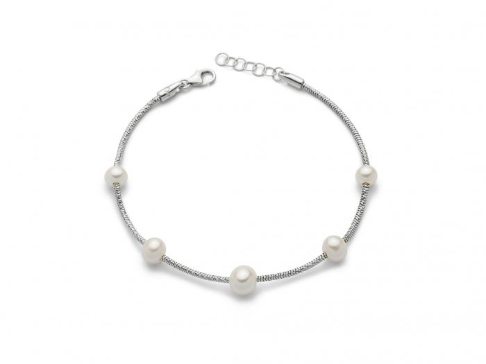Bracciale con Perle in argento 925% MISS ITALIA PBR2830