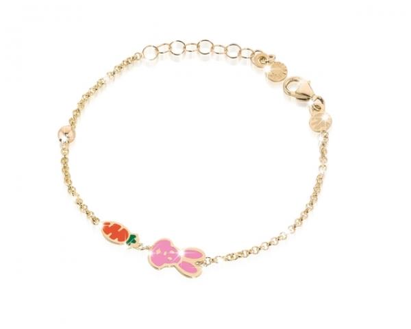 Le Bebè - 9k Yellow Gold Bracelet for girl