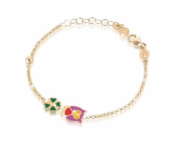 Le Bebè - 9k Yellow Gold Bracelet for girl