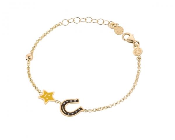Le Bebè - 9k Yellow Gold Bracelet for boy