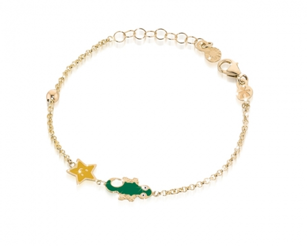 Le Bebè - 9k Yellow Gold Bracelet for boy