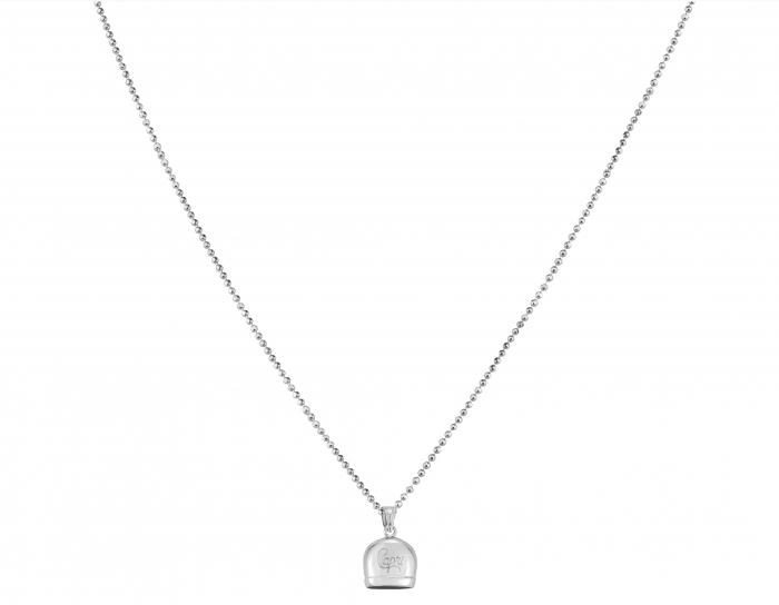 Catenina e ciondolo Capri la Campanella della Fortuna in argento 925%
