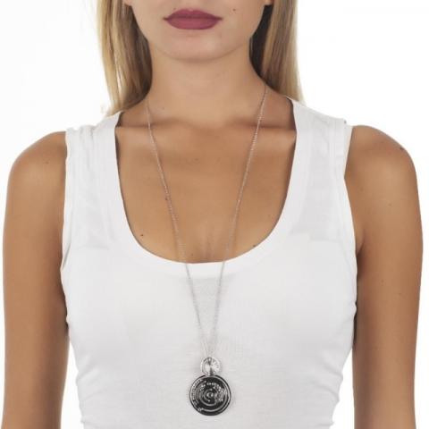 Collana BOCCADAMO con pendente di ispirazione Maya e Swarovski XGR402