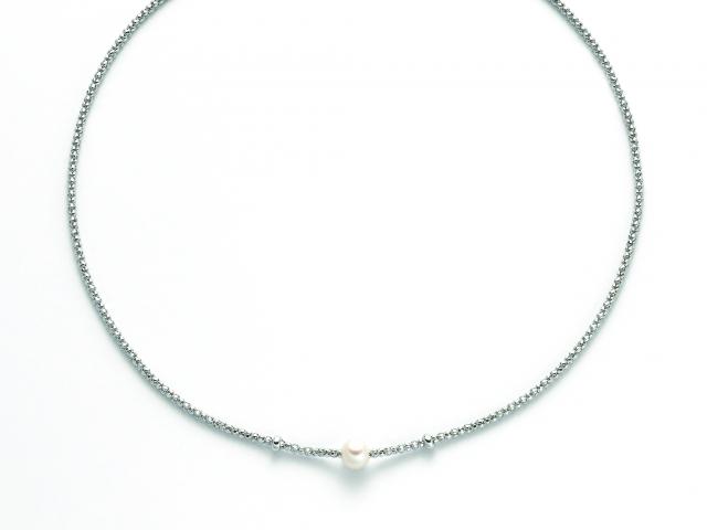 Collana MILUNA con Perla in argento 925% MISS ITALIA PCL5797