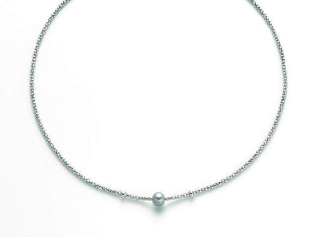 Collana MILUNA con Perla in argento 925% MISS ITALIA PCL5832