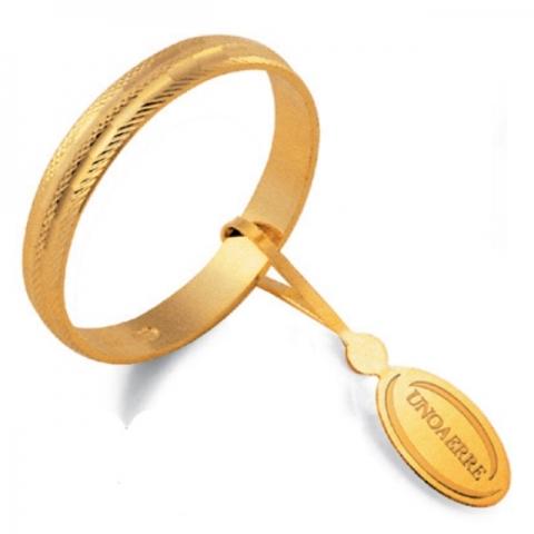 Fedina Unoaerre modello CAMELIA in oro giallo 18kt - AF236