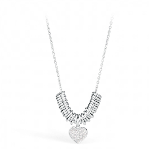S'Agapò by BrosWay - Stainless Steel Pendant Necklace