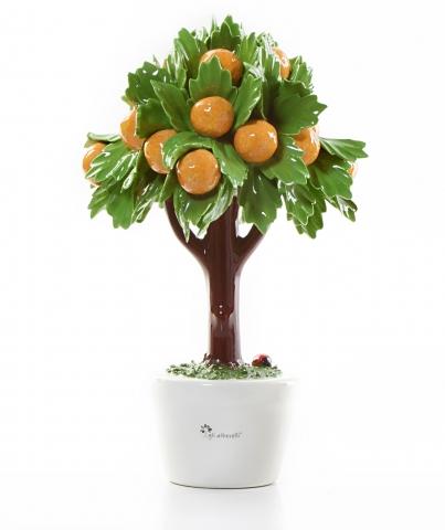 Gli Alberelli - Alberello Profumatore con arance misura grande