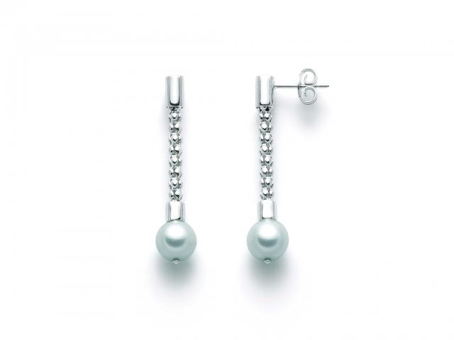 Orecchini MILUNA con Perle in argento 925% MISS ITALIA PER2410