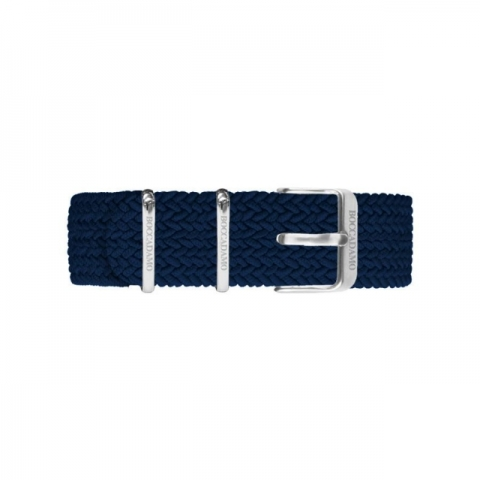 Orologio Boccadamo serie Prince con quadrante blu e cinturino in nylon Perlon blu navy