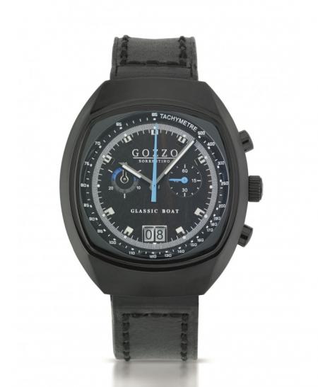 Orologio Cronografo Gozzo Sorrentino modello Ponente Black