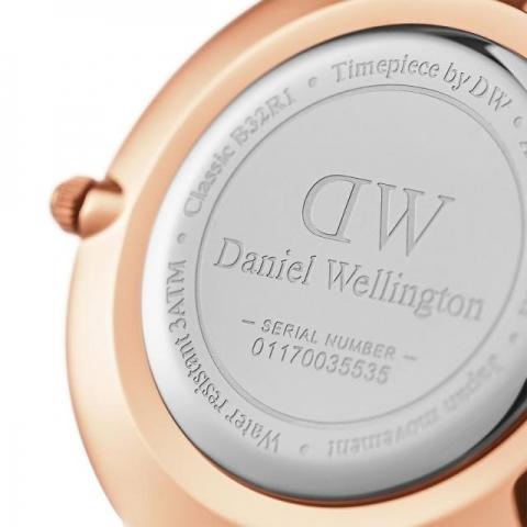 Orologio Daniel Wellington Classic Petite Merlose Rose Gold 32 mm