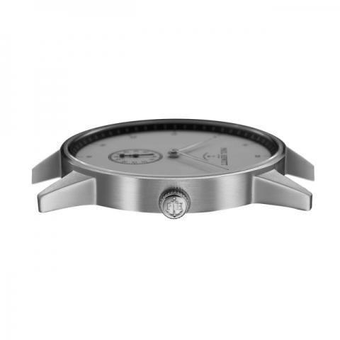 Orologio Paul Hewitt Signature Line Silver MARK I White Ocean cinturino metallo silver