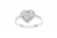 GioielleriaMaglione.it - Grama & Mounier - 18K White Gold 0.35ct Natural Diamond Ring