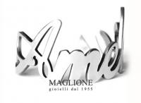 GioielleriaMaglione.it - Anello personalizzabile con nome in acciaio anallergico bianco giallo o rosa
