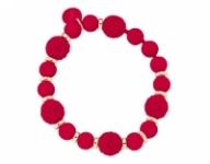 GioielleriaMaglione.it - Bracciale Ops Boule Chic rosso OPSBR-261