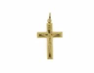 GioielleriaMaglione.it - 18K Yellow Gold Cross Pendant