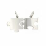 GioielleriaMaglione.it - 925 Silver Rhodium Broken Puzzle Pendant