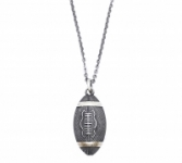 GioielleriaMaglione.it - 925k Silver Necklace whit pendant Rugby ball