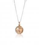 GioielleriaMaglione.it - Le Bebè - 925K Rose and White Silver Necklace