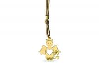 Cordino con ciondolo My Charm diavoletto collezione Mini Charm in oro giallo o bianco 18kt
