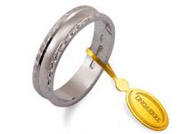 Fedina Unoaerre modello ANEMONE AF 235 in oro bianco 18kt - AF235