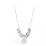 GioielleriaMaglione.it - S'Agapò by BrosWay - Stainless Steel Pendant Necklace