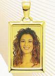GioielleriaMaglione.it - Medaglia foto personalizzabile mod. MC/colore oro giallo 18kt