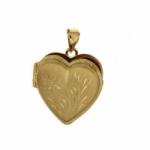 GioielleriaMaglione.it - Pendente portafoto a forma di cuore in oro giallo 18kt
