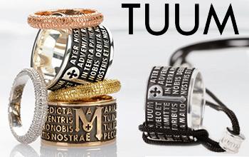 Vendita gioielli Tuum anello preghiera padre nostro e ave maria