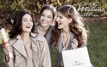 Vendita gioielli Miluna collana anello bracciale oro perla diamante al prezzo migliore più basso del mercato!